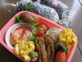 小学生のお弁当(春休み編)5