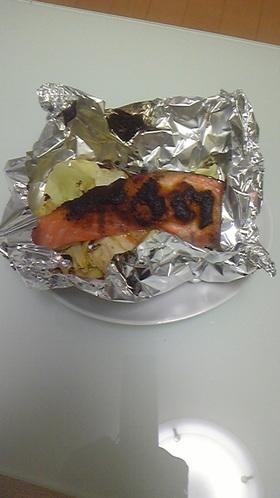 調理時間15分!鮭&春キャベツホイル焼き