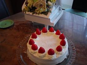 苺のバースデーケーキ☆クリスマスケーキ☆