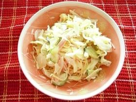 今が美味しい☆新タマネギスパサラダ