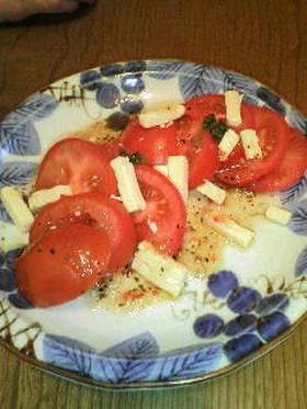 チーズでうま味アップ☆トマトのサラダ