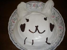 ギャルごはん☆うさぎのプリンケーキ