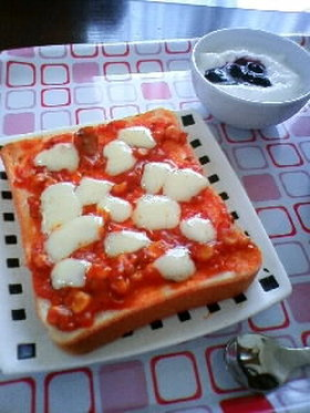明治北海道十勝スマートチーズピザ