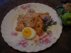 鶏胸肉とローズマリーのオーブン焼き☆
