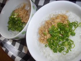 ダイエット作戦☆蒟蒻ご飯で鶏味噌のお粥風