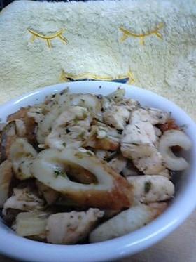 ちくわと鶏ささみの煮物
