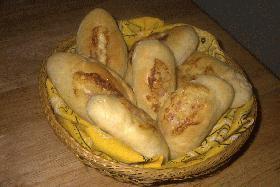 ハムロールパン