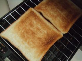トースターいらず!カリフワトースト