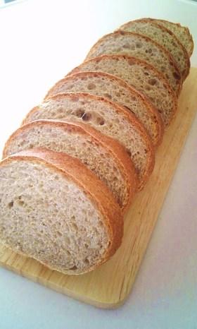 ライ麦✿全粒粉の✿田舎✿パン