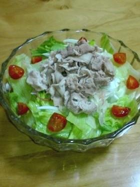 肉が柔らかな冷しゃぶサラダ