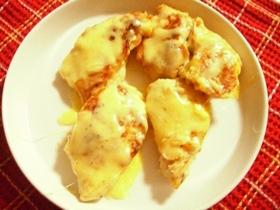 ボリュ~ムたっぷり☆ムネ肉のチーズ焼き