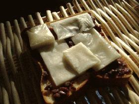 意外な美味しさ(・∀・)餅トースト
