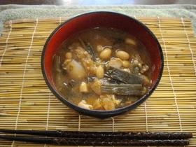 大豆たっぷり赤味噌呉汁