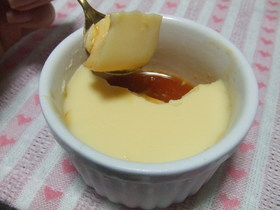 ゼラチンで作る♡チーズプリン.*゜