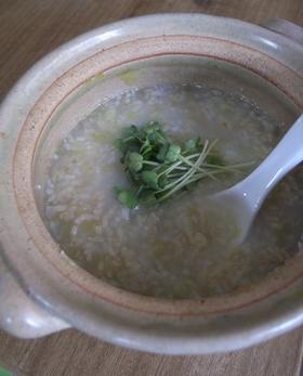 玄米で☀キャベツのかんたんお粥