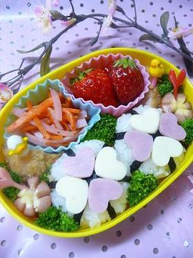 キャラ弁?お花見&行楽弁当に♪桜にぎり☆
