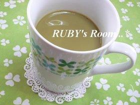 まろやか美味♡ 抹茶豆乳カフェオレ♪