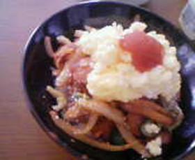 日×伊♥ナポリタン丼