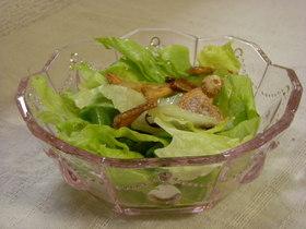 ぺペロン風簡単サラダ
