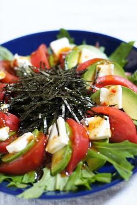 ☆アボカドとトマトの和風サラダ☆