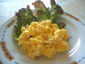 レンジで簡単!炒り卵