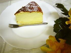 絶品☆おうちの材料でスフレチーズケーキ