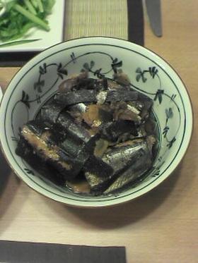 簡単!圧力鍋でさんまの梅煮