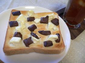 とろ~り♡焼きチョコクリチートースト