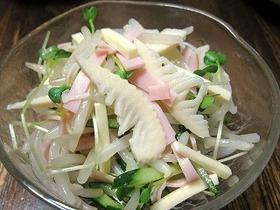 竹の子ともやしのサラダ♪