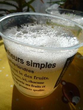 ビールに見える? アップルサイダーゼリー