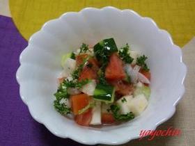 トマトのあっさりサラダ