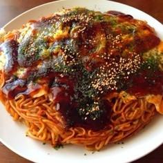 広島県人の焼く♨️広島お好み焼き♨