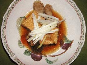 豚肉と厚揚げの中華煮