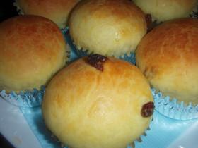 炊飯器で発酵パン(ブリオッシュレーズン)