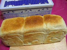 お菓子の缶で角食パン☆彡