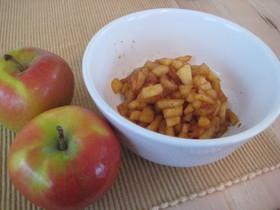 リンゴ再生!簡単シナモンアップルソース