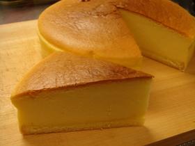 美味しいスフレチーズケーキ その1