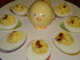 デビルドエッグ(ゆで卵の前菜)