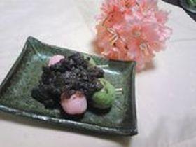 菓:春菊de草だんご♪