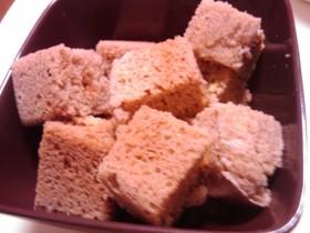 小麦粉なし☆アップルシナモンケーキ