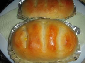 炊飯器で発酵パン(コーンマヨネーズ)
