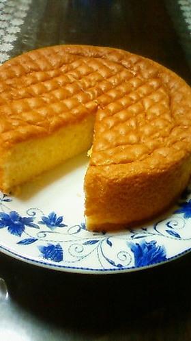 ふんわり☆ふわっふわっのスポンジケーキ