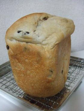 米粉入りレーズン食パン