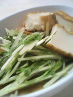簡単美味しい★水菜の煮浸し