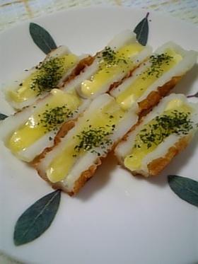 【お弁当】ちくわのマヨチーズ焼き