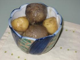 里芋と団子の煮物