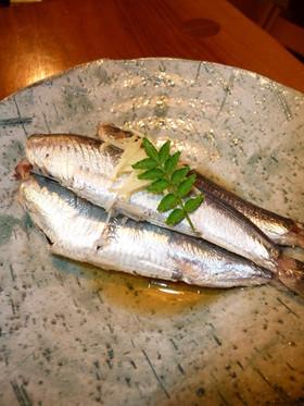 魚を簡単に食べよう♪いわしの酒煮