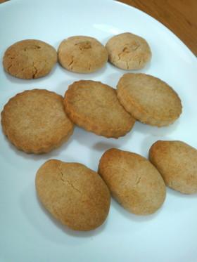 アレルギー対応・米粉のさっくりクッキー