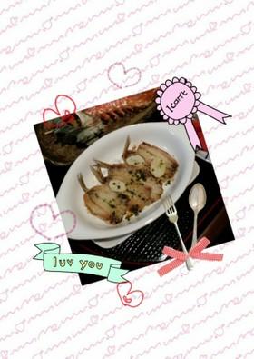 鰯のサクサクガーリックパン粉焼き