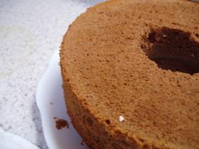 ♪シフォン風ノンオイル☆チョコケーキ♪